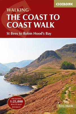 Coast to Coast Trail | wandelgids 9781852847593  Cicerone Press   Meerdaagse wandelroutes, Wandelgidsen Northumberland, Yorkshire Dales & Moors, Peak District, Isle of Man