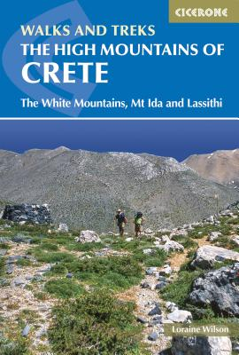 The High Mountains of Crete | wandelgids 9781852847999 Loraine Wilson Cicerone Press   Wandelgidsen Kreta