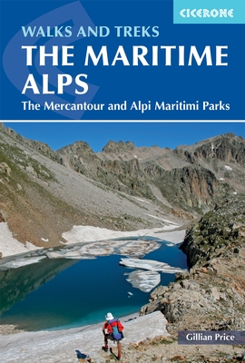Walks and Treks in the Maritime Alps 9781852848453 Gillian Price Cicerone Press   Meerdaagse wandelroutes, Wandelgidsen Franse Alpen: zuid