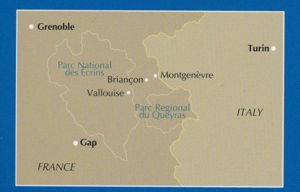 Walking in the Briançonnais 9781852848880 Andrew McCluggage Cicerone Press   Wandelgidsen Franse Alpen: zuid