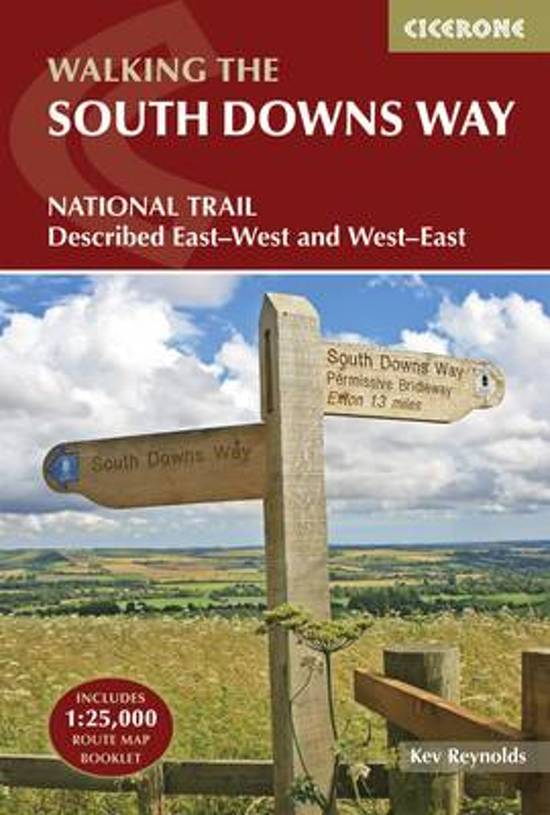The South Downs Way | wandelgids 9781852849405 Reynolds Cicerone Press   Meerdaagse wandelroutes, Wandelgidsen Kent, Sussex, Isle of Wight