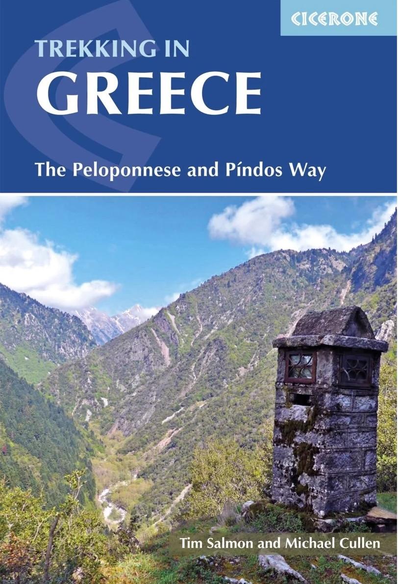 Trekking in Greece | wandelgids 9781852849689  Cicerone Press   Meerdaagse wandelroutes, Wandelgidsen Griekenland