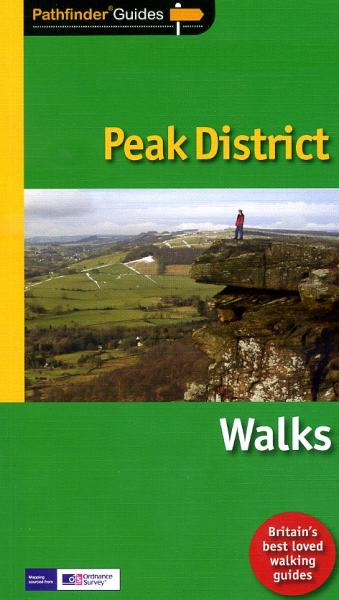 Pathfinder Guide Peak District Walks 9781854585004  Crimson Publishing / Ordnance Survey Pathfinder Guides  Wandelgidsen Northumberland, Yorkshire Dales & Moors, Peak District, Isle of Man