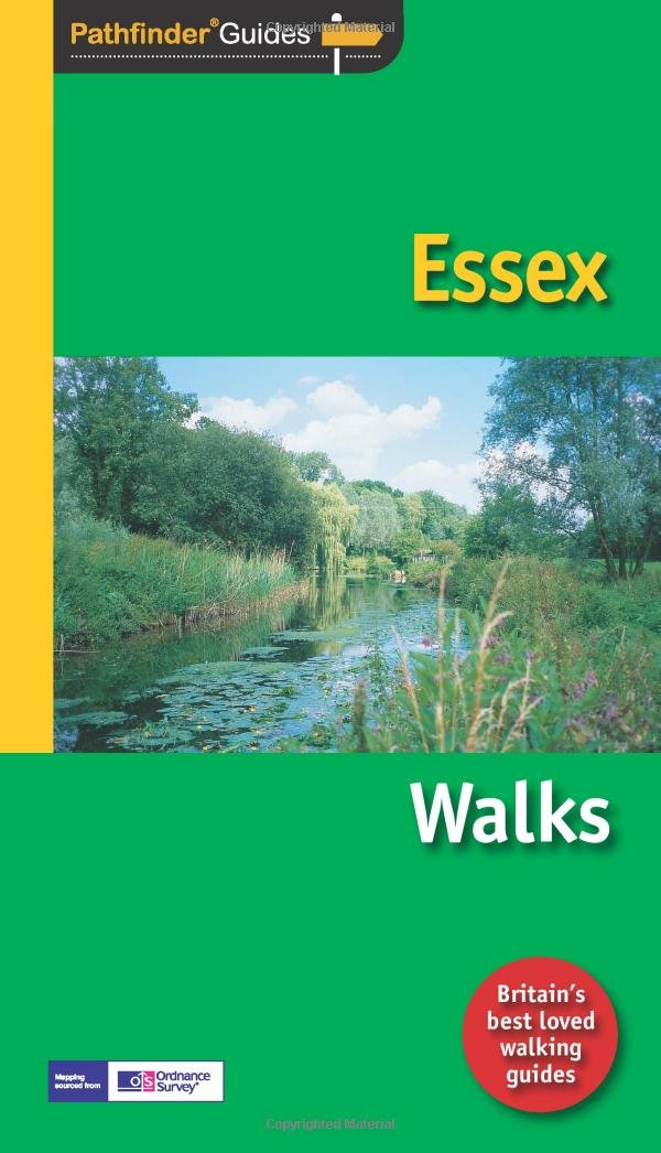 PG-44  Essex walks   wandelgids 9781854585103  Crimson Publishing / Ordnance Survey Pathfinder Guides  Wandelgidsen Lincolnshire, Norfolk, Suffolk, Cambridge