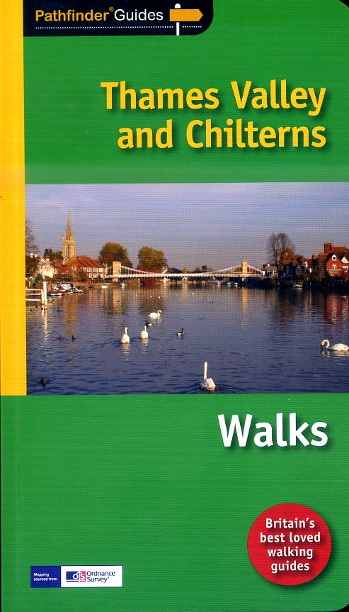 PG-25  Chilterns + Thames Valley | wandelgids 9781854586827  Crimson Publishing / Ordnance Survey Pathfinder Guides  Wandelgidsen Midlands, Cotswolds, Oxford