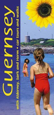 Sunflower Guernsey | wandelgids 9781856913829  Sunflower Landscapes  Wandelgidsen Guernsey