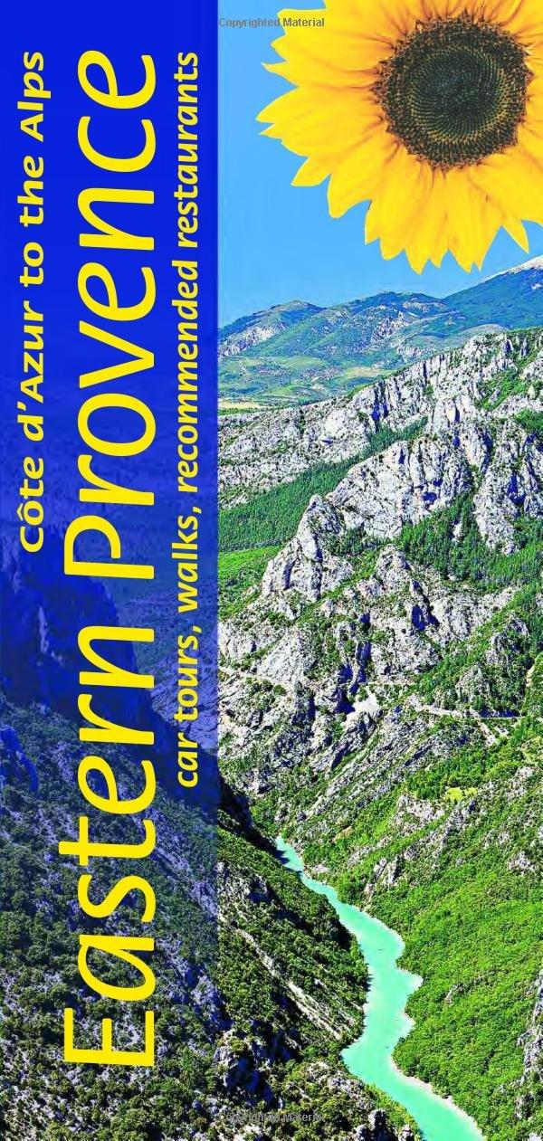 Sunflower Eastern Provence | wandelgids 9781856914796  Sunflower Landscapes  Wandelgidsen Côte d'Azur, Franse Alpen: zuid