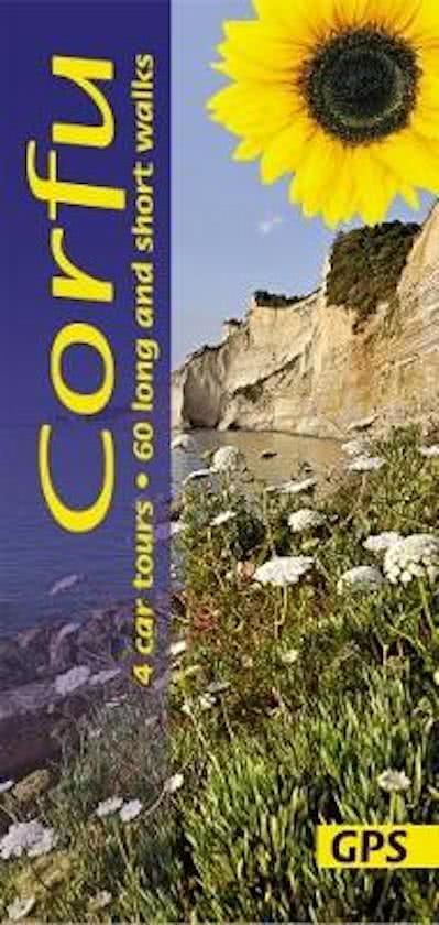 Sunflower Corfu | wandelgids 9781856914925  Sunflower Landscapes  Wandelgidsen Ionische Eilanden (Korfoe, Lefkas, etc.)
