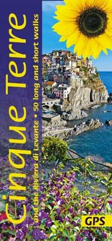 Sunflower Cinque Terre | wandelgids 9781856914970  Sunflower Landscapes  Wandelgidsen Genua, Ligurië