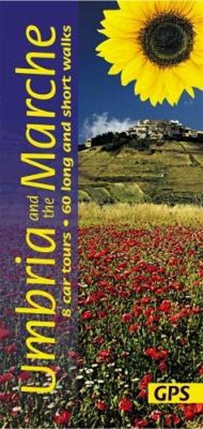 Sunflower Umbria + The Marche | wandelgids 9781856915014  Sunflower Landscapes  Wandelgidsen Umbrië