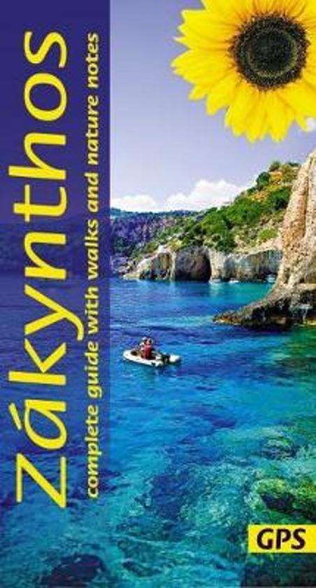 Zakynthos | wandelgids 9781856915243  Sunflower Landscapes  Wandelgidsen Ionische Eilanden (Korfoe, Lefkas, etc.)