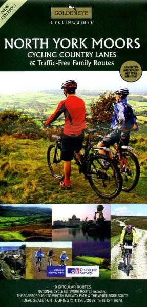North York Moors 1:126.000 9781859651742  Goldeneye   Fietskaarten Northumberland, Yorkshire Dales & Moors, Peak District, Isle of Man