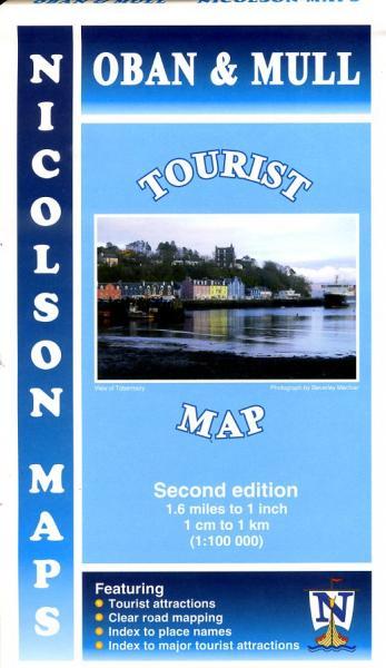 Oban & Mull Tourist Map 1:100.000 9781860973543  Nicolson   Landkaarten en wegenkaarten Skye & the Western Isles