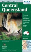 Central Queensland 1:1.000.000 9781865002019  Hema Maps   Landkaarten en wegenkaarten Australië