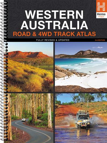 Western Australia Road & 4WD Track Atlas 9781865007328  Hema Maps   Wegenatlassen Australië