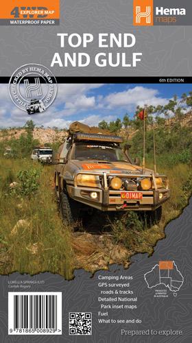 Australia Top End 1:1.650.000 9781865008929  Hema Maps   Landkaarten en wegenkaarten Australië