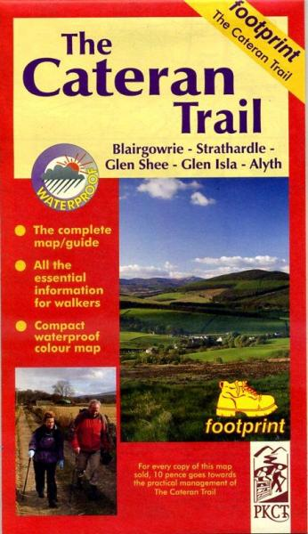 The Cateran Trail 9781871149814  Footprint   Wandelkaarten de Schotse Hooglanden (ten noorden van Glasgow / Edinburgh)