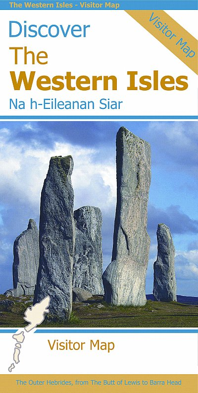 Discover the Western Isles : Visitor Map 1:140.000 9781871149869  Stirling Surveys   Landkaarten en wegenkaarten Skye & the Western Isles