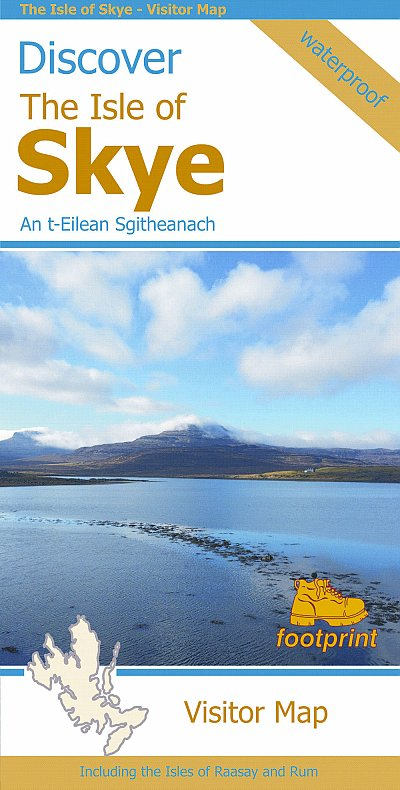 The Isle of Skye 1:110.000  - Discover the Isle of 9781871149906  Stirling Surveys   Landkaarten en wegenkaarten Skye & the Western Isles
