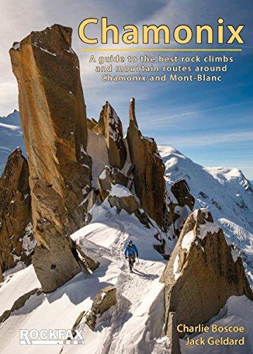 Chamonix Rockfax 9781873341575  Rockfax   Klimmen-bergsport Franse Alpen: noord