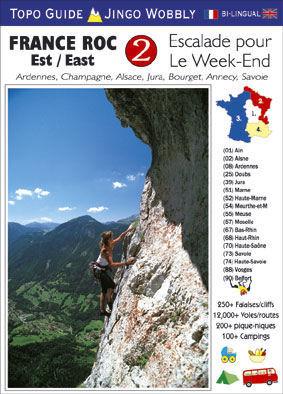 France Roc 2 - East 9781873665084 David Atchison - Jones Vision Poster Company   Klimmen-bergsport Frankrijk