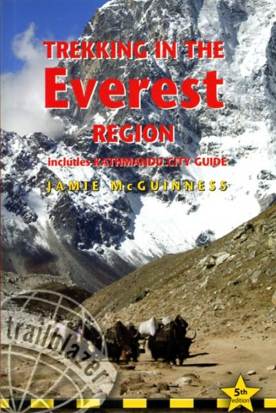 Trekking in the Everest Region 9781873756997 McGuinnes Trailblazer Walking Guides  Meerdaagse wandelroutes, Wandelgidsen Nepal