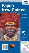 Papua New Guinea 9781875610013  Hema Maps   Landkaarten en wegenkaarten Papoea Nieuw-Guinea