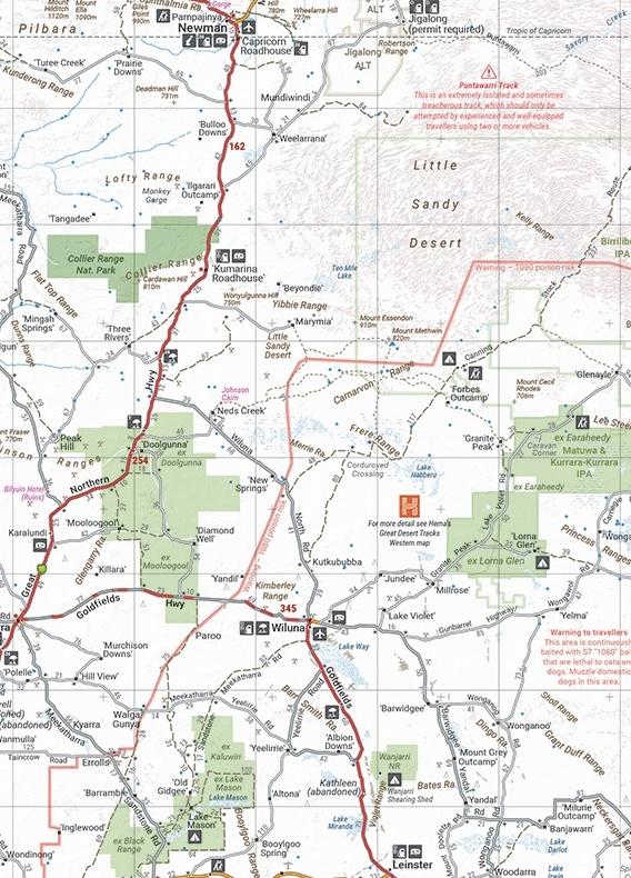 Australia Handy Atlas 9781876413750  Hema Maps   Wegenatlassen Australië