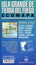 Isla Grande de Tierra del Fuego 1:500.000 9781879568082  Zagier & Urruty   Landkaarten en wegenkaarten Patagonië