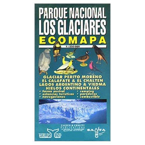 Parque Nacional Los Glaciares 1:250.000 9781879568433  Zagier & Urruty   Landkaarten en wegenkaarten Patagonië