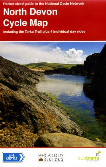 CCG03 North Devon Cycle Map 1:110.000 9781900623223  Cycle City Guides / Sustrans   Fietskaarten Cornwall, Devon, Somerset, Dorset