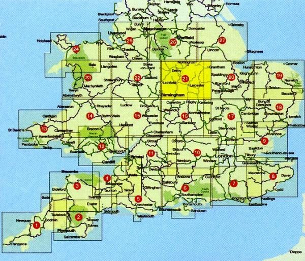 CCG21 East Midlands Cycle Map 1:110.000 9781900623353  Cycle City Guides / Sustrans   Fietskaarten Midlands, Cotswolds, Oxford