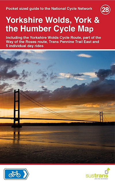 CCG28 Yorkshire Wolds, York & the Humber Cycle Map 9781900623452  Cycle City Guides / Sustrans   Fietskaarten Northumberland, Yorkshire Dales & Moors, Peak District, Isle of Man