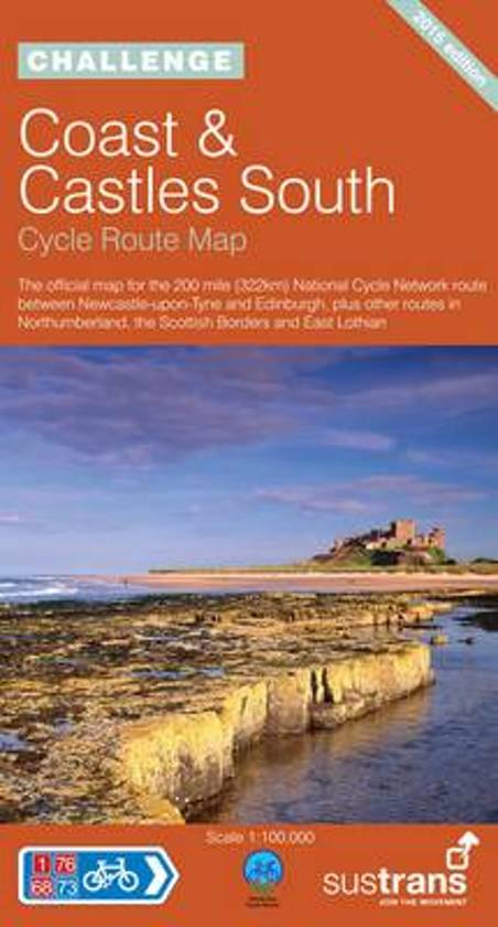 NN01C  Coasts and Castles Cycle Route 9781901389692  Sustrans Nat. Cycle Network  Fietskaarten, Meerdaagse fietsvakanties Londen