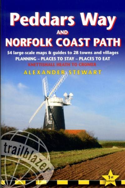 Peddars Way and Norfolk Coast Path 9781905864287  Trailblazer Walking Guides  Meerdaagse wandelroutes, Wandelgidsen Lincolnshire, Norfolk, Suffolk, Cambridge