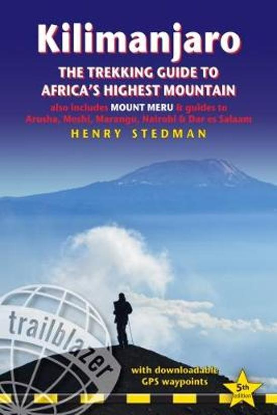 Kilimanjaro Treks and Excursions 9781905864959  Trailblazer Walking Guides  Meerdaagse wandelroutes, Wandelgidsen Tanzania, Zanzibar
