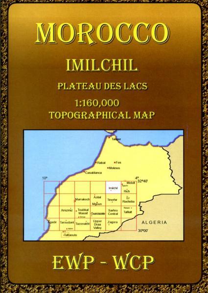 Imilchil and the Plateau des Lacs (HA) 9781906449025  EWP Morocco Maps 1:160.000  Landkaarten en wegenkaarten Marokko