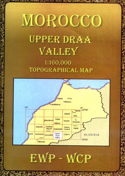 Upper Draa Valley (HO) 9781906449100  EWP Morocco Maps 1:160.000  Landkaarten en wegenkaarten Marokko