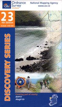 DM-23 9781907122200  Ordnance Survey Ireland Discovery Maps 1:50.000  Wandelkaarten Galway, Connemara, Donegal