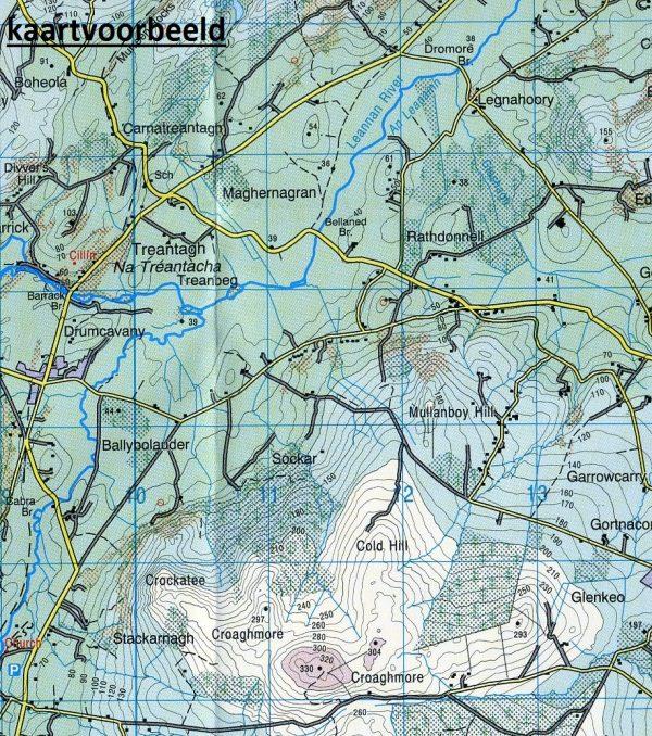 DM-06  Donegal - Letterkenney 9781907122446  Ordnance Survey Ireland Discovery Maps 1:50.000  Wandelkaarten Galway, Connemara, Donegal