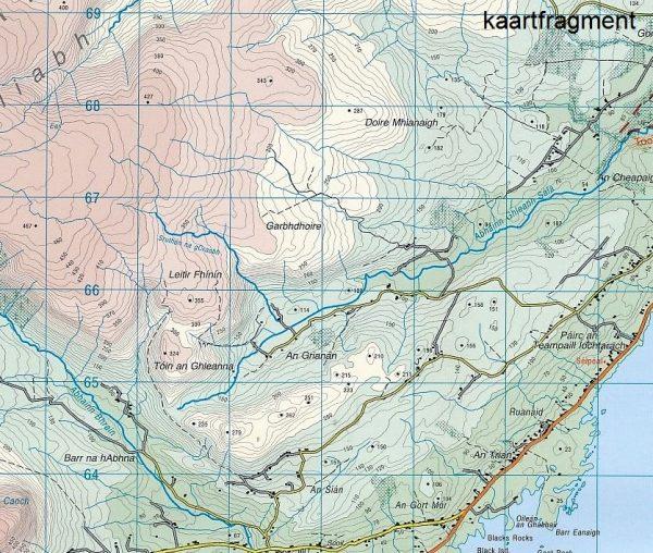 DM-78  The Reeks / Kerry 9781908852328  Ordnance Survey Ireland Discovery Maps 1:50.000  Wandelkaarten Munster, Cork & Kerry