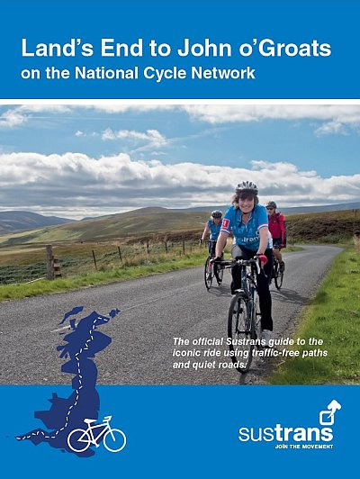 Land's End to John o'Groats on the National Cycle Network 9781910845295  Sustrans   Fietsgidsen, Meerdaagse fietsvakanties Groot-Brittannië