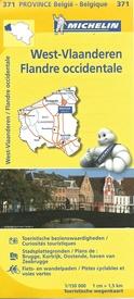 West-Vlaanderen 9782067185289  Michelin België 1:150.000  Landkaarten en wegenkaarten Vlaanderen