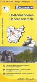 Oost-Vlaanderen 9782067185296  Michelin België 1:150.000  Landkaarten en wegenkaarten Vlaanderen