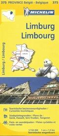 Limburg (B) 9782067185326  Michelin België 1:150.000  Landkaarten en wegenkaarten Vlaanderen