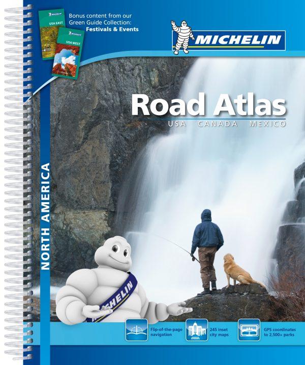 Amerika Noord/Canada/Mexico 9782067191853  Michelin Wegenatlassen  Wegenatlassen Verenigde Staten