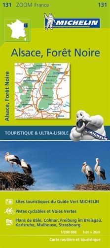 131 Zwarte Woud, Elzas, Rijnvallei 1:200.000 9782067209879  Michelin Zoom  Landkaarten en wegenkaarten Beieren, Vogezen