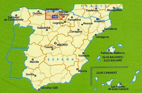 143  Costa de Cantabria - zoom 1:150.000 9782067218062  Michelin Michelin Spanje, Zoom  Landkaarten en wegenkaarten Noordwest-Spanje