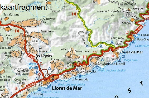 147 Barcelona y alrededores - zoom 1:150.000 9782067218178  Michelin Michelin Spanje, Zoom  Landkaarten en wegenkaarten Catalonië