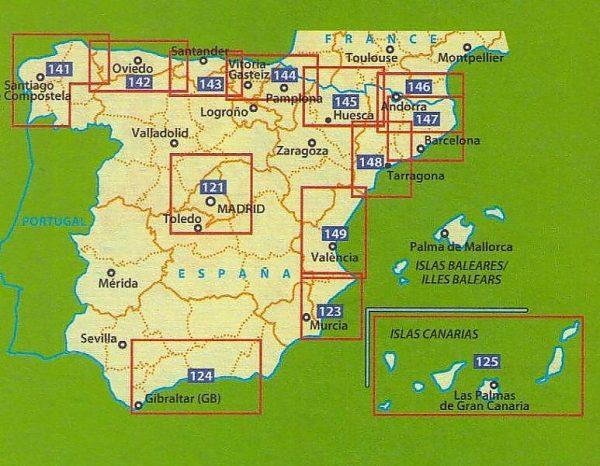 149  Valencia y alrededores - zoom 1:150.000 9782067218239  Michelin Michelin Spanje, Zoom  Landkaarten en wegenkaarten Valencia